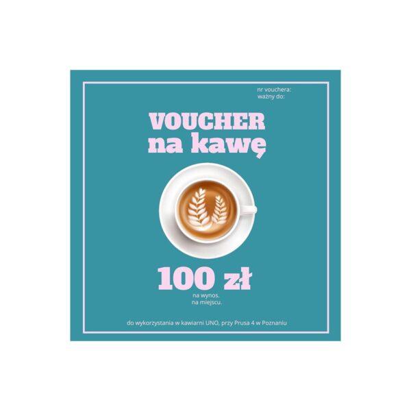 voucher na kawę 100 zł