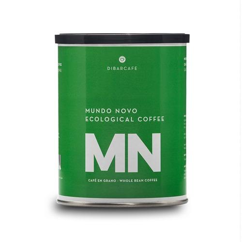 kawa ekologiczna Mundo Novo 250g ziarno puszka