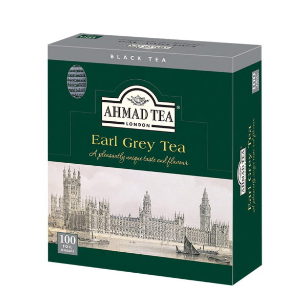 Herbata AHMAD Earl Grey 100 szt. koperta alu