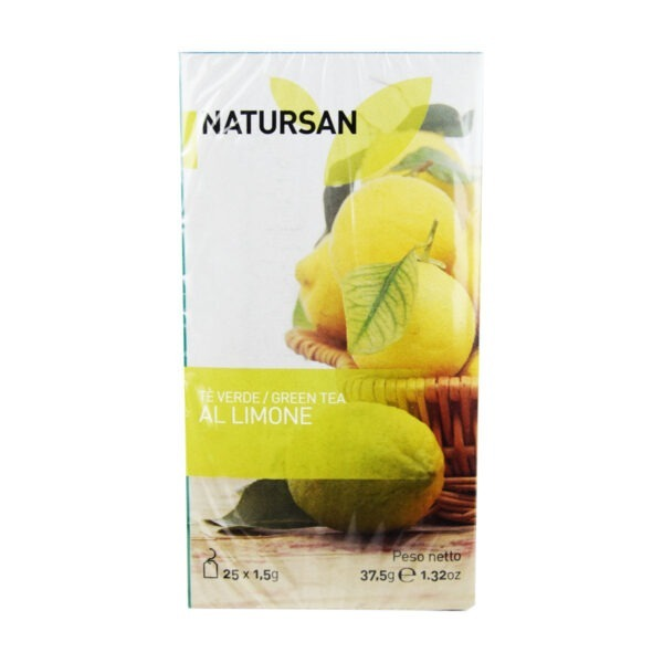 herbata NATURSAN zielona cytrynowa, 25 szt.