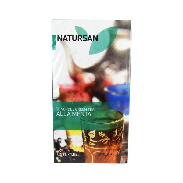 herbata NATURSAN zielona, miętowa, 25 szt.
