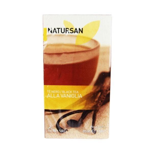 herbata NATURSAN czarna waniliowa, 25 szt