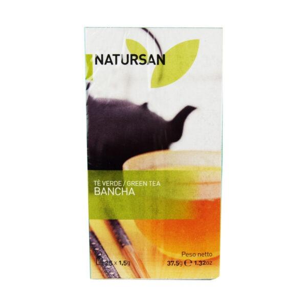 herbata NATURSAN zielona Bancha, 25 szt