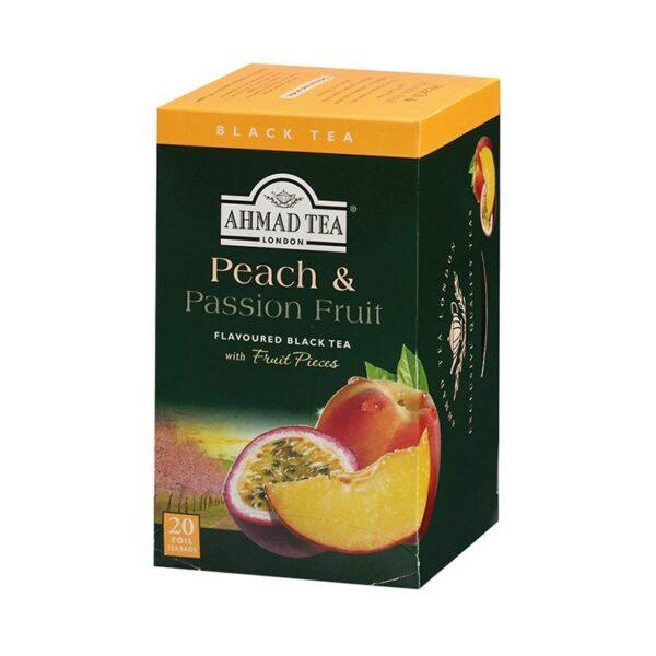 Herbata AHMAD brzoskwiniowa 20 szt. koperta alu