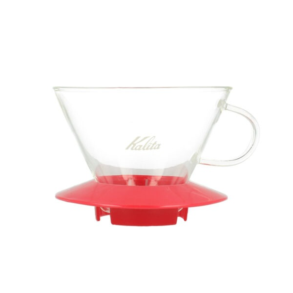 Kalita Wave dripper Glass Cherry Pink 185