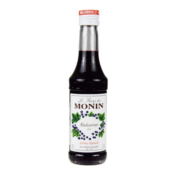 Syrop Monin czarna porzeczka 0,25 l