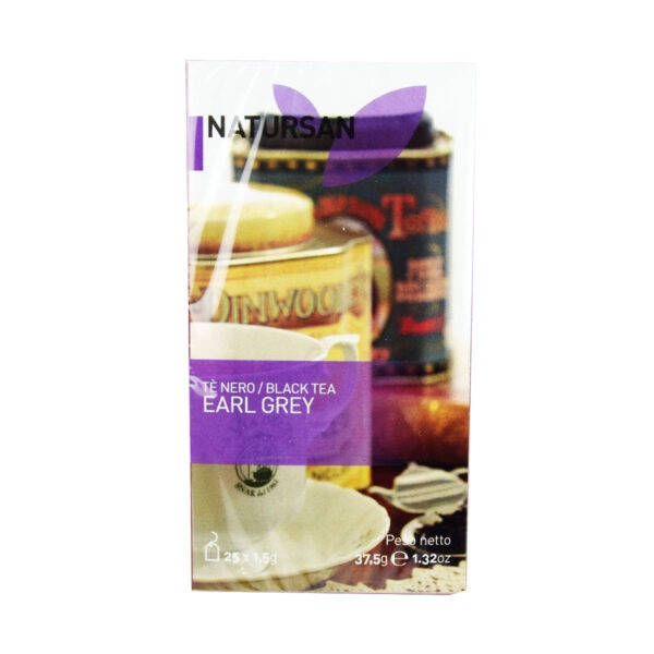 herbata NATURSAN Earl Grey, 25 szt.