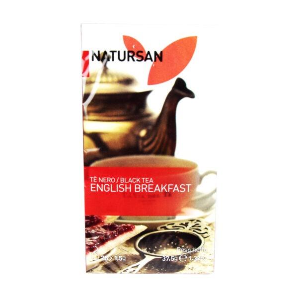 herbata NATURSAN English Breakfast, 25 szt.