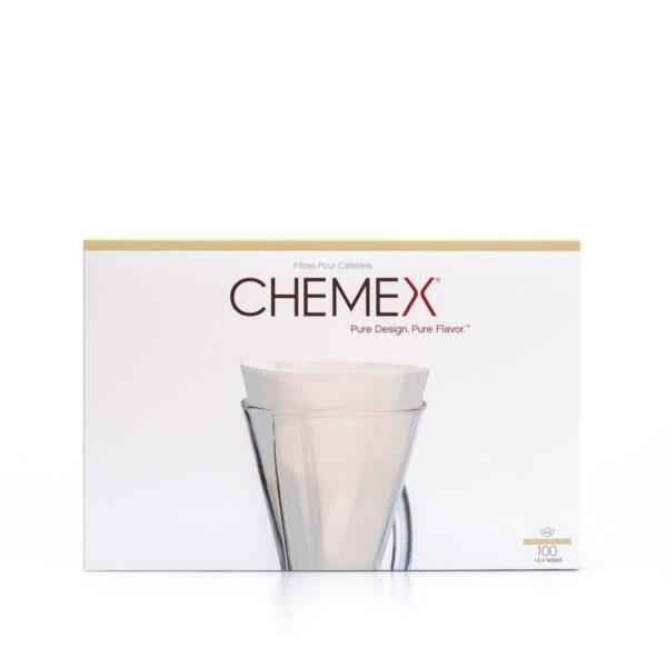 filtr papierowy do Chemexa rozł. 3 filiż, 100 szt.