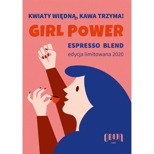 plakat Odija Girl Power format A4