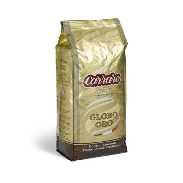 kawa CARRARO globo oro 1 kg ziarno