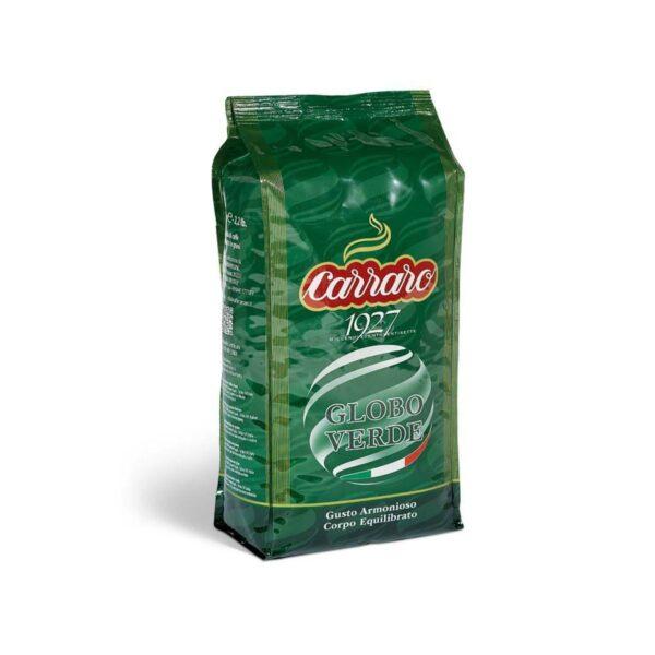 kawa CARRARO globo verde 1 kg ziarno