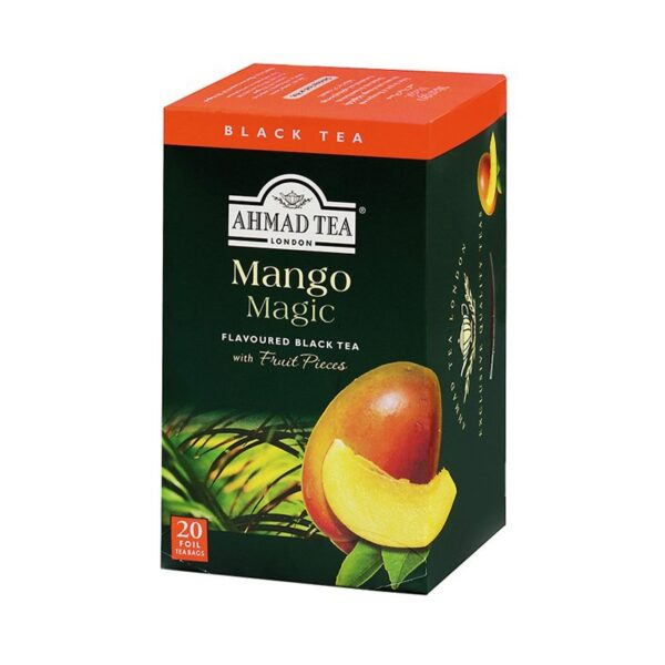 Herbata AHMAD mango 20 szt. koperta alu