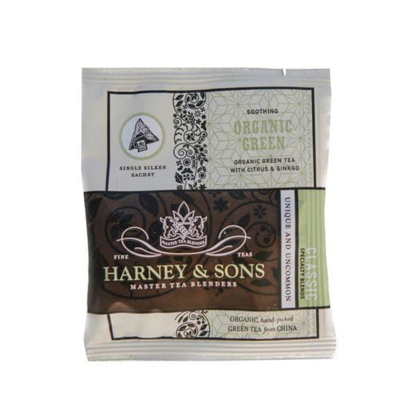 Herbata Harney Jedwab Organic Green  Kop.