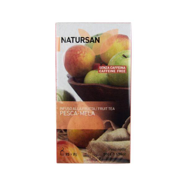 herbata NATURSAN brzoskwinia-jabłko, 25 szt.