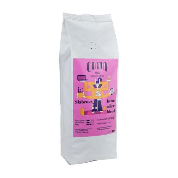 kawa ODIJA Home Office Słabeusz 100%, ziarno 0,5kg