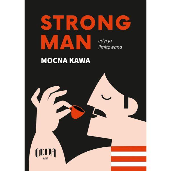 plakat Odija Strongman format A2