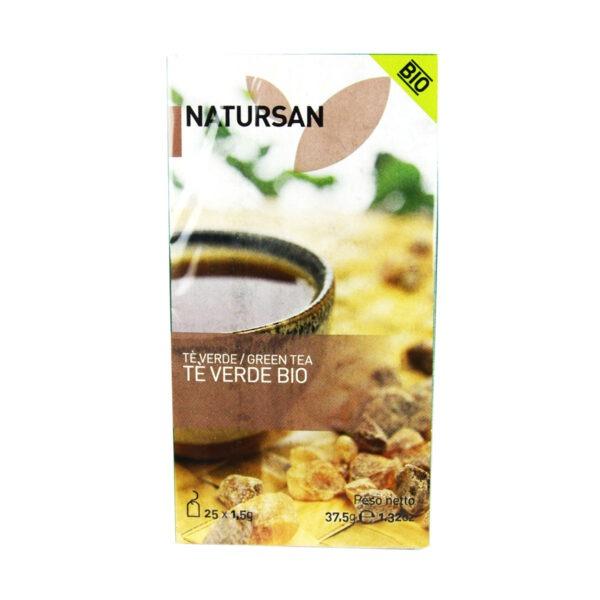 herbata NATURSAN zielona Bio, 25 szt.