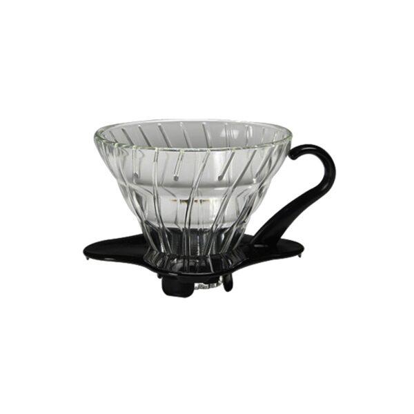 dripper szklany Hario V60 02 - czarny
