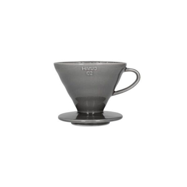 driper ceramiczny Hario V60 02, szary