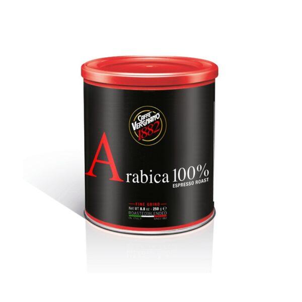 Kawa VERGNANO Arabica mielona puszka 250g espresso