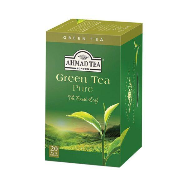 Herbata AHMAD Zielona 20 szt. koperta alu