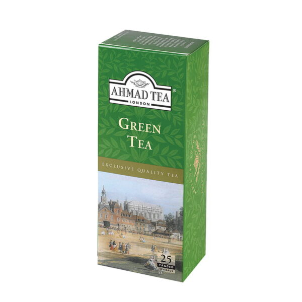 Herbata AHMAD zielona 25 szt.B/K