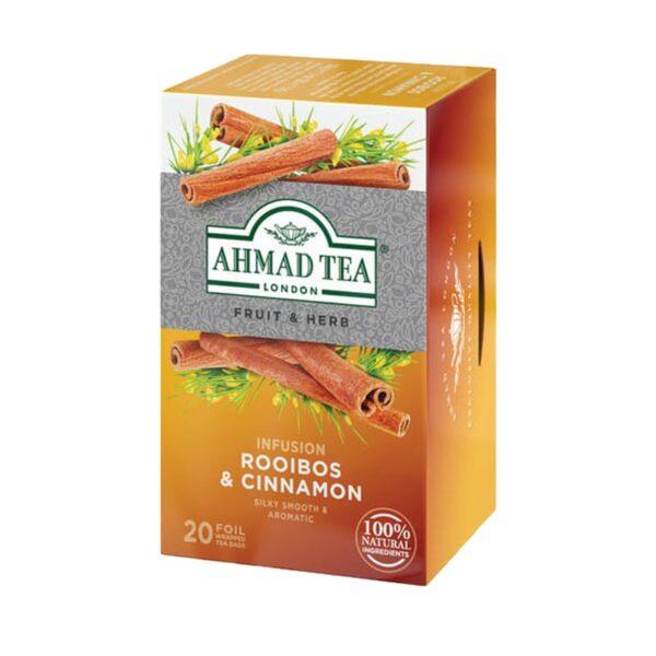 Herbata AHMAD rooibos& cynamon 20 szt koperta alu.