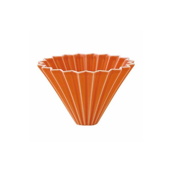 driper Origami S, ceramiczny, pomarańczowy