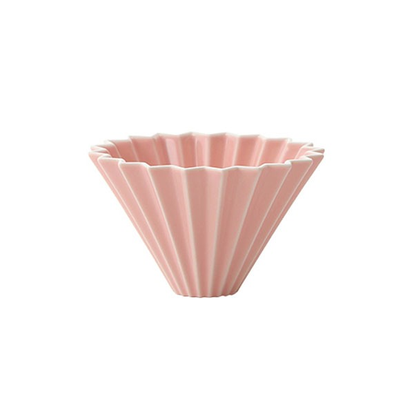 driper Origami S, ceramiczny, różowy