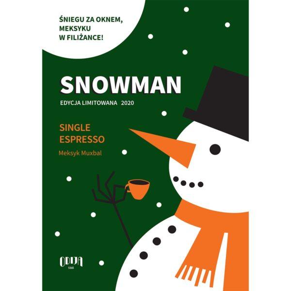 plakat Odija Snowman format A4
