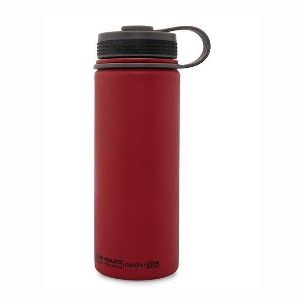 Asobu Alpine Flask, 530ml, butelka czerwona