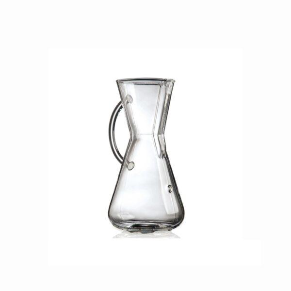 Chemex - 3 filiżanki ze szklanym uchwytem