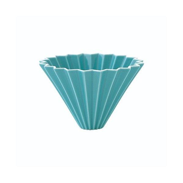 driper Origami S, ceramiczny, turkusowy