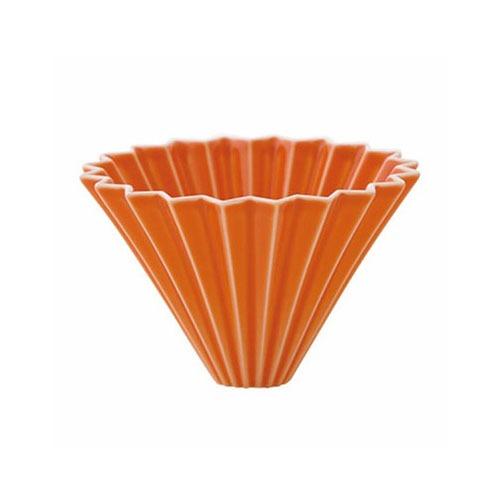 driper Origami M, ceramiczny, pomarańczowy