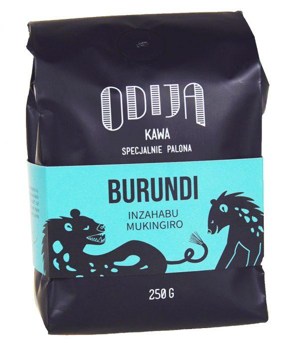kawa ODIJA Burundi Inzahabu, ziar. 250g, filtr