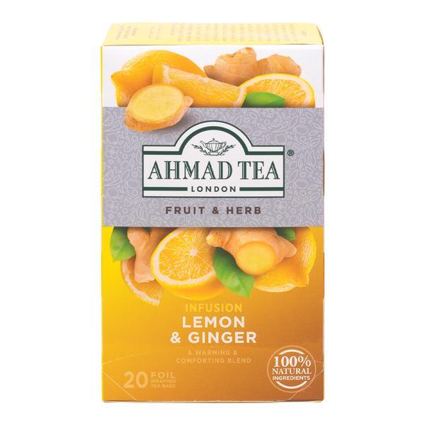 Herbata AHMAD Cytryna& Imbir 20 szt. koperta alu